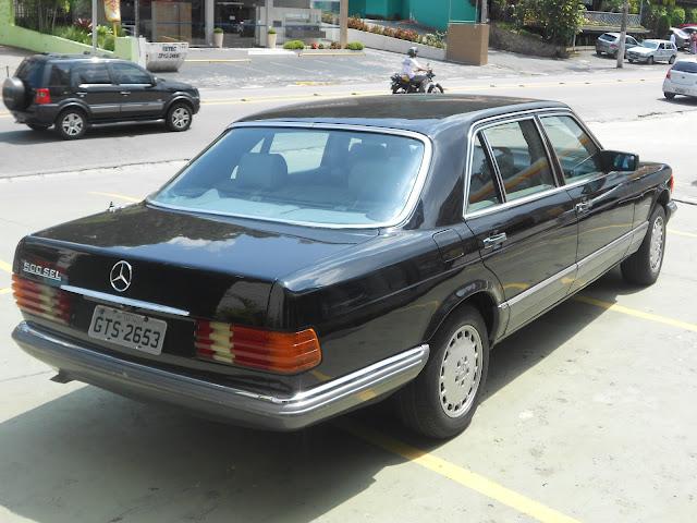 Vendo W126 500SEL- ano - 84 : R$ 30 mil - Troco por MB menor DSCN0074