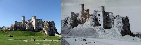zamek ogrodzieniec wczoraj i dziś