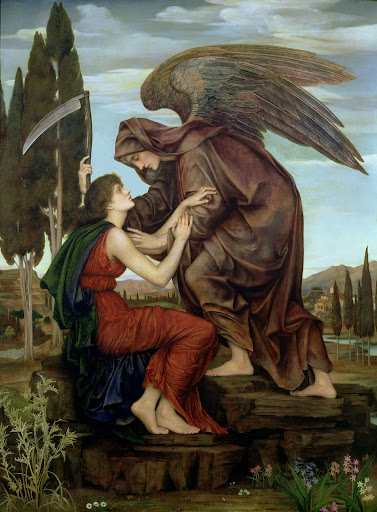 Evelyn De Morgan - The Angel of Death