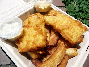 The Frying Scotsman - Fish and Chips, food carts, Portland