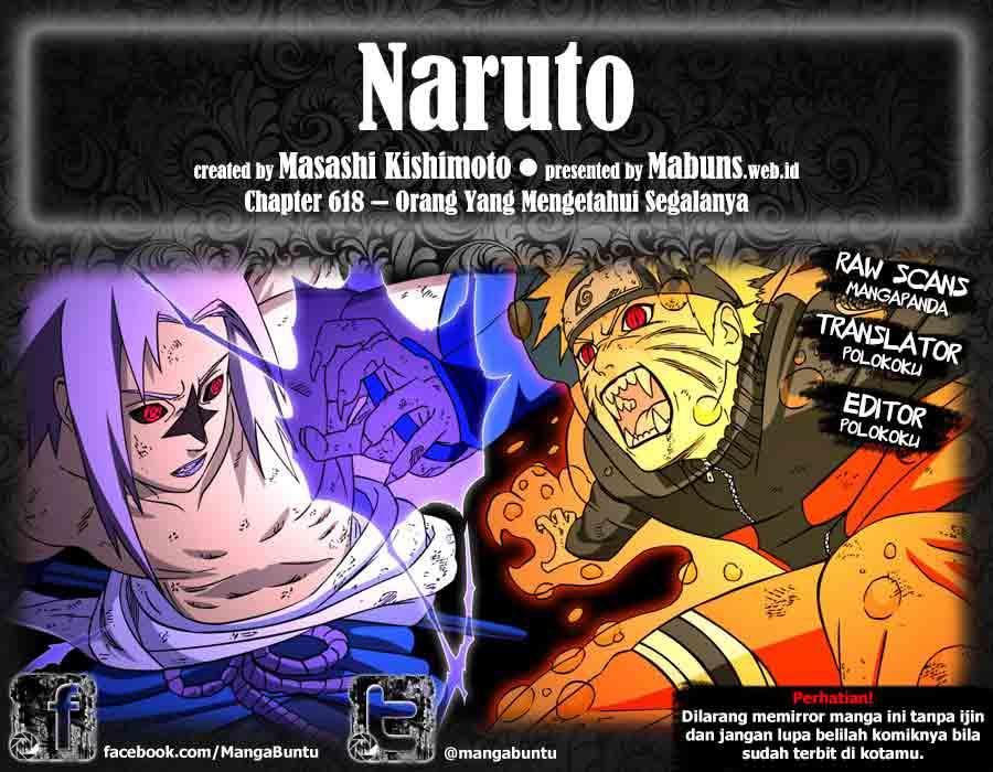 00Naruto Naruto 618   Orang yang Tahu Segalanya