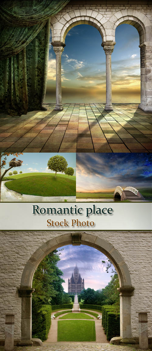 Stock Photo: Romantic place