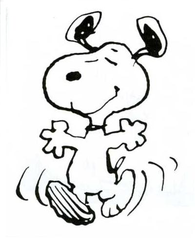 Charlie Brown Dog Walking