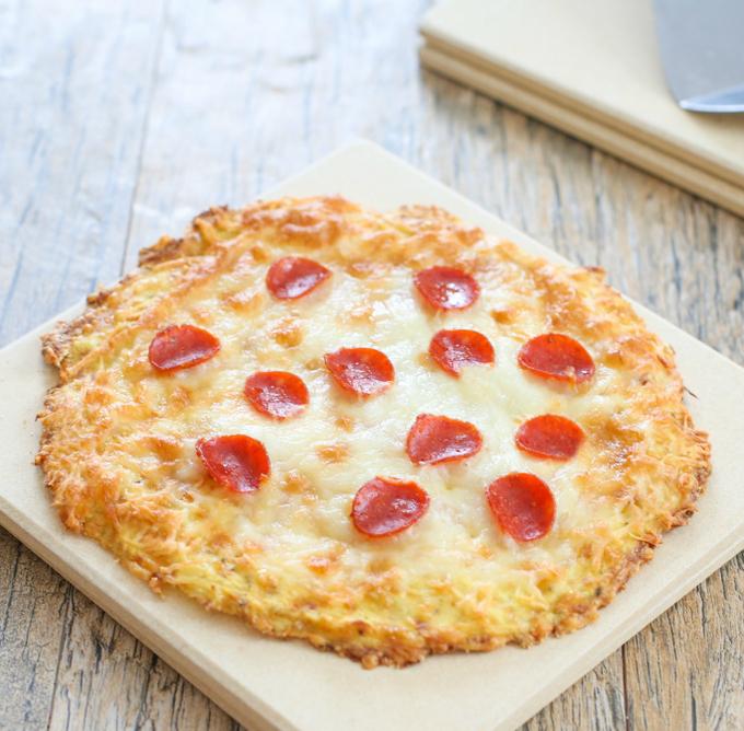 Cauliflower Pizza Crust Kirbie S Cravings