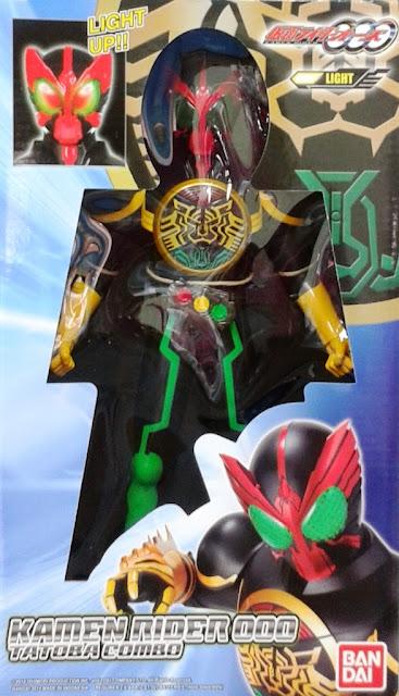 Mô hình Siêu nhân Kamen Rider OOO Tatoba Combo được làm từ nhựa Vinyl an toàn