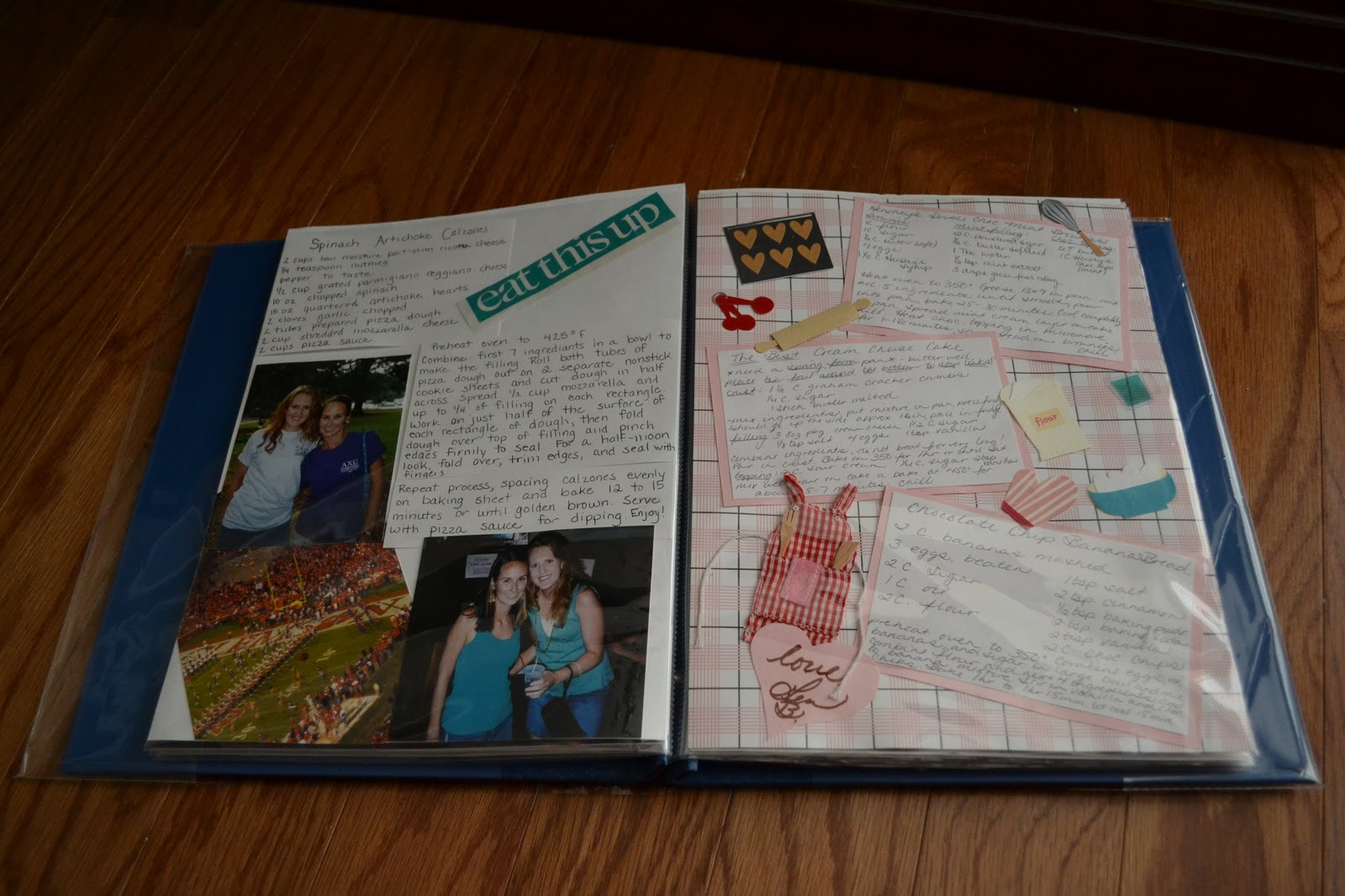 Recipe Scrapbook Laforce Be With You