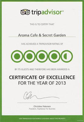 Aroma Cafe & Secret Garden - Mijas Pueblo