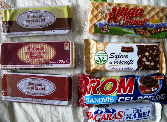 batonul copilariei, ciocolata de casa, nuga, salam de biscuiti