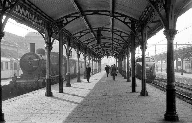 Spoorfotograaf Kees van de Meene exposeert in Spoorwegmuseum