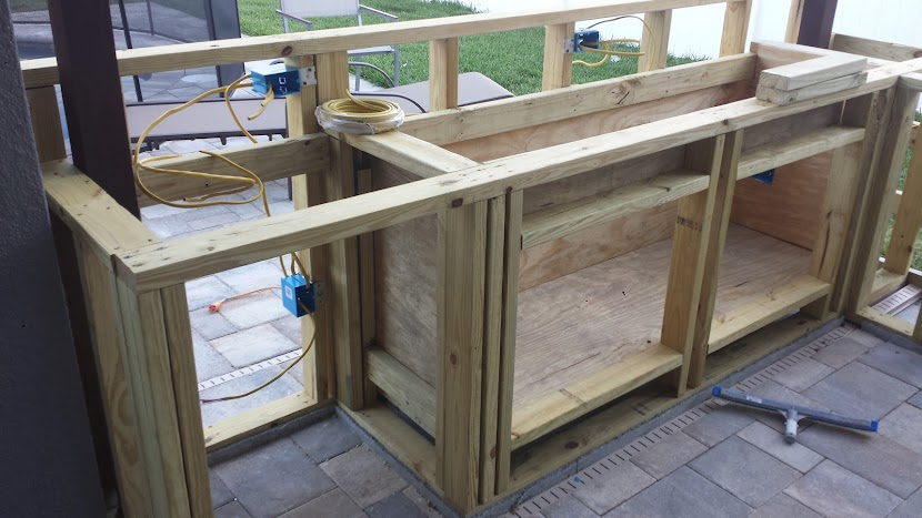 Diy Outdoor Kitchen Cabinet Plans