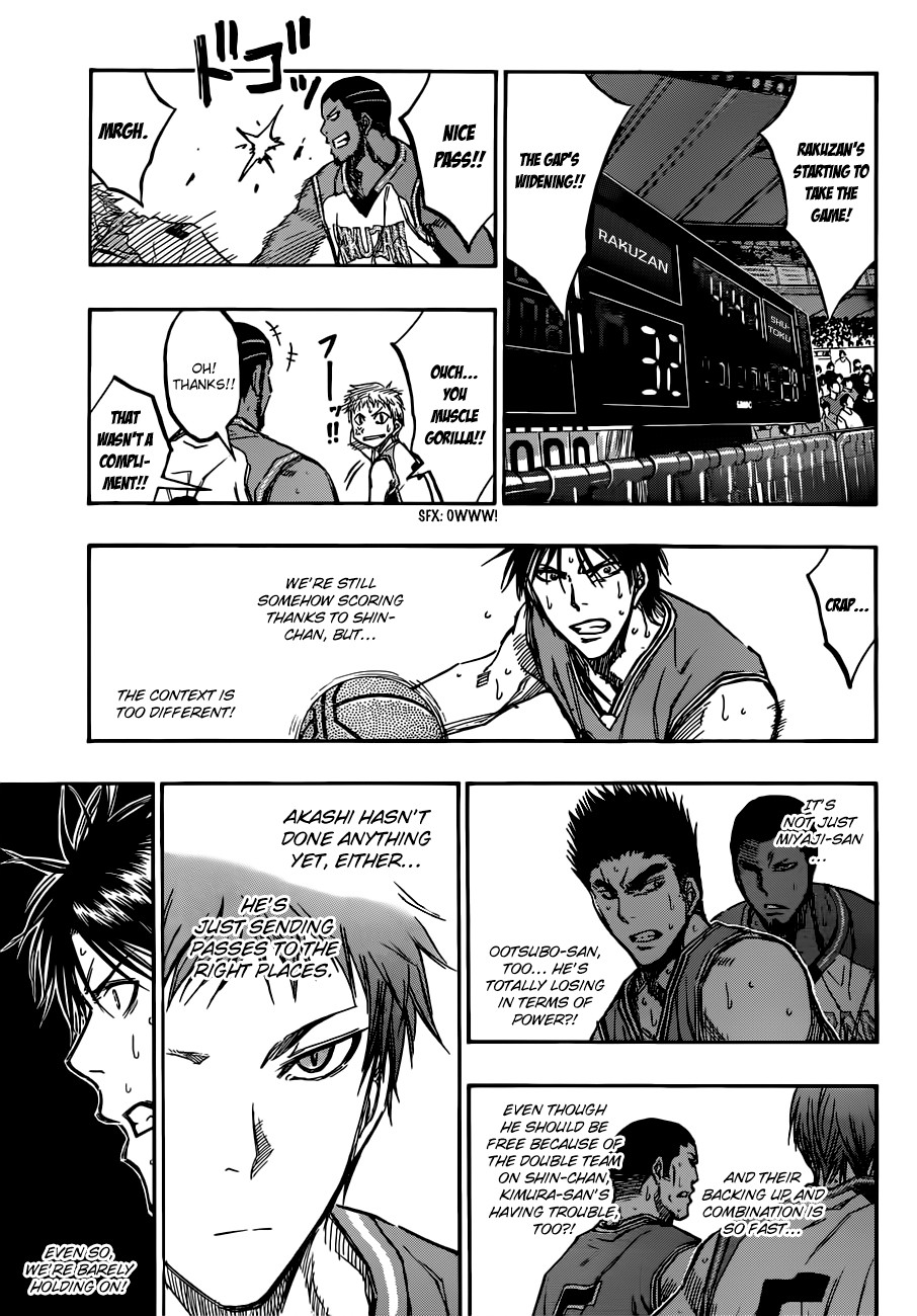 Kuroko no Basket Manga Chapter 177 - Image 11