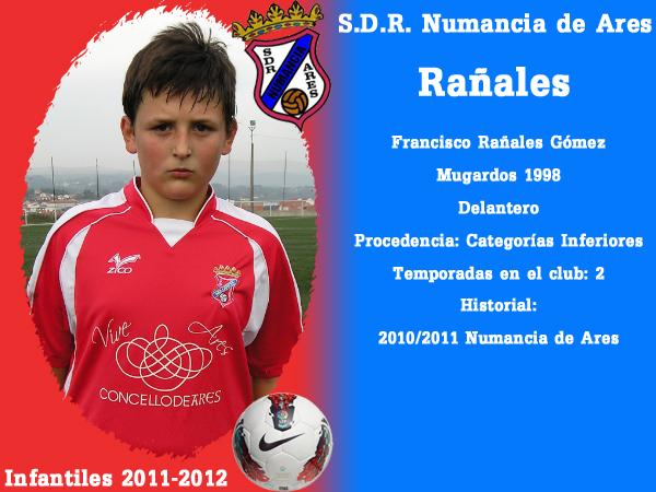 ADR Numancia de Ares. Infantís 2011-2012. RAÑALES.