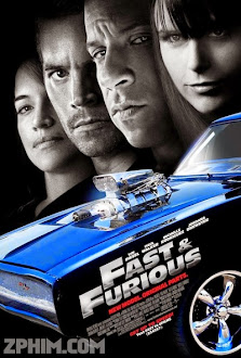 Quá Nhanh Quá Nguy Hiểm 4 - Fast & Furious (2009) Poster