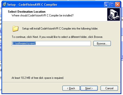 codevisionavr 2.03.4