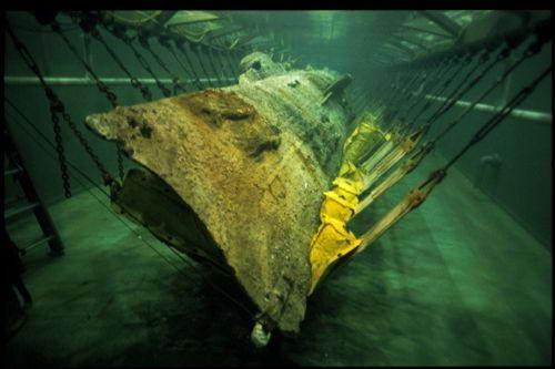 поднятые со дна подводные лодки фото