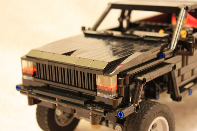 jeep comanche lego technic mindstorms model team. Black Bedroom Furniture Sets. Home Design Ideas