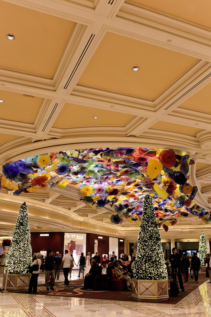 Christmas at Bellagio Las Vegas
