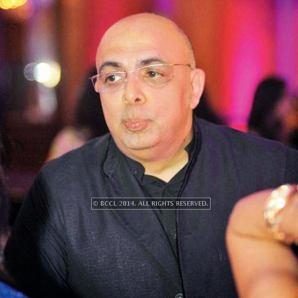 Tarun Tahiliani at an event, held in a Delhi hotel.