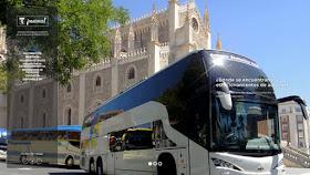 Estacionamiento de autobuses discrecionales y turísticos de la ciudad de Madrid