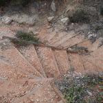Steep stairs down to Long Beach (107785)