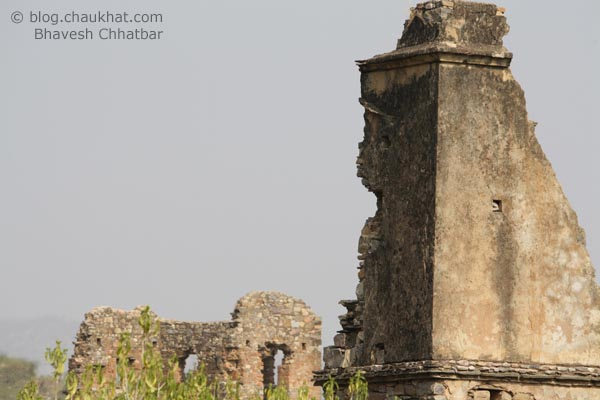 Bhangarh - Ruined Walls