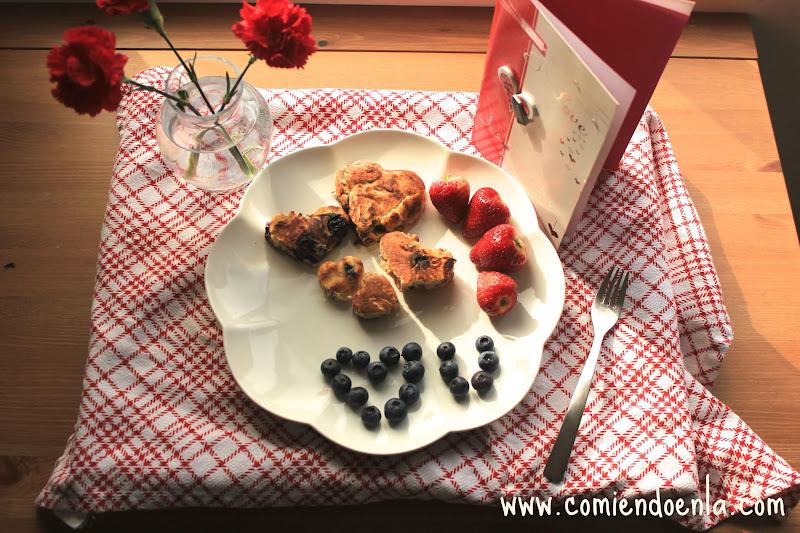 BlueBerries & Nuts Pancakes