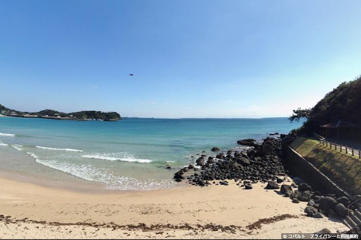 筒城浜海水浴場のUFO