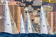 J/24s sailing off Monte Carlo, Monaco- Carl Borlenghi/ Rolex