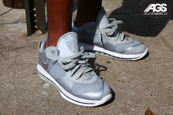 Nike LeBron 8 V2 Low Featuring Your Favorite Greyish Look