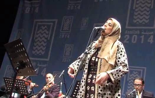 على هامش مهرجان أصيلة الدولي : حوار مع الفنانة المغربية سلوى الشودري
