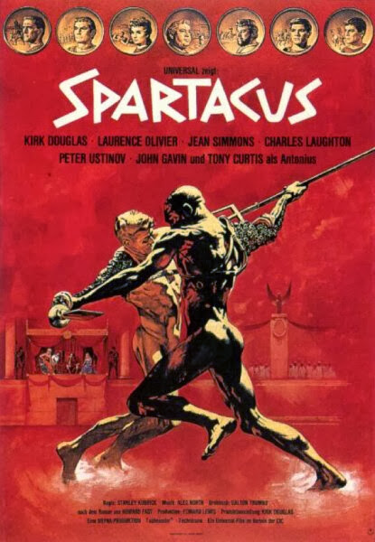 Poster Of Spartacus (1960) Full Movie Hindi Dubbed Free Download Watch Online At Alldownloads4u.Com