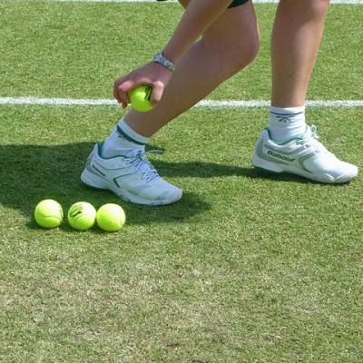 Watching the Wimbledon Qualifying tournament