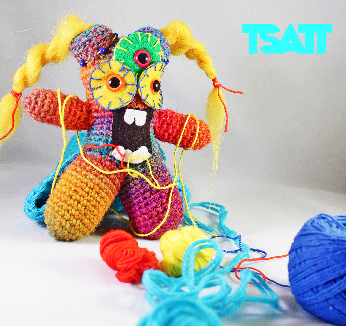 Amigurumi Change Yarn : Amigurumi monster the Yarn Disorganizer The Sun and the ...