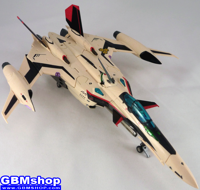 Macross Frontier YF-29 Durandal Isamu Dyson Custom Fighter Mode