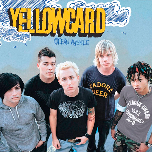 Rock Album Artwork Yellowcard Ocean Avenue