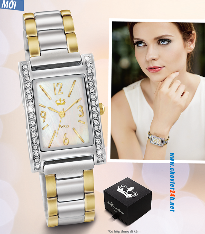 Đồng hồ nữ cao cấp Sophie Arieta - SASL225