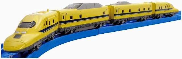Tàu hỏa Shinkansen AS-03 Type 923-3000 Dr. Yellow mô phỏng giống hệt chiếc tàu trong thực tế