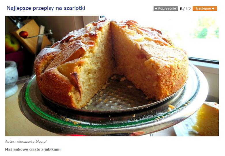 maślankowe ciasto z jabłkami