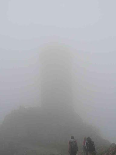 Luc avait prédit qu'on ne verrait pas la tour...