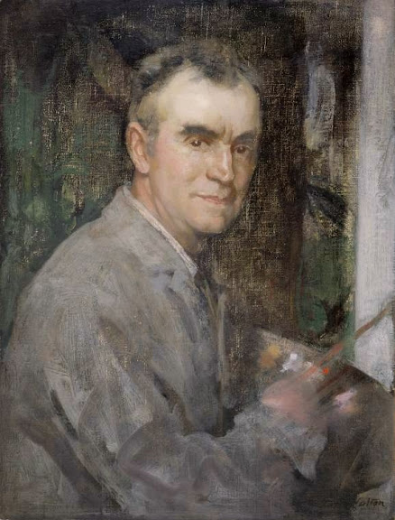 Edward Arthur Walton - Self-Portrait