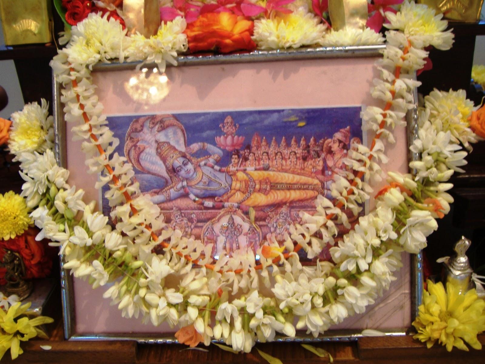 Ananta Chaturdashi Vrata or Sri Anantha Padmanabha Vratha