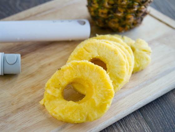 photo of pineapple rings