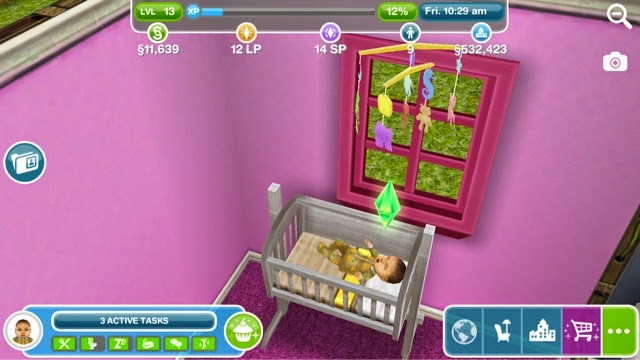 Baby costs 3lps and takes a day for the stork to deliver the new baby