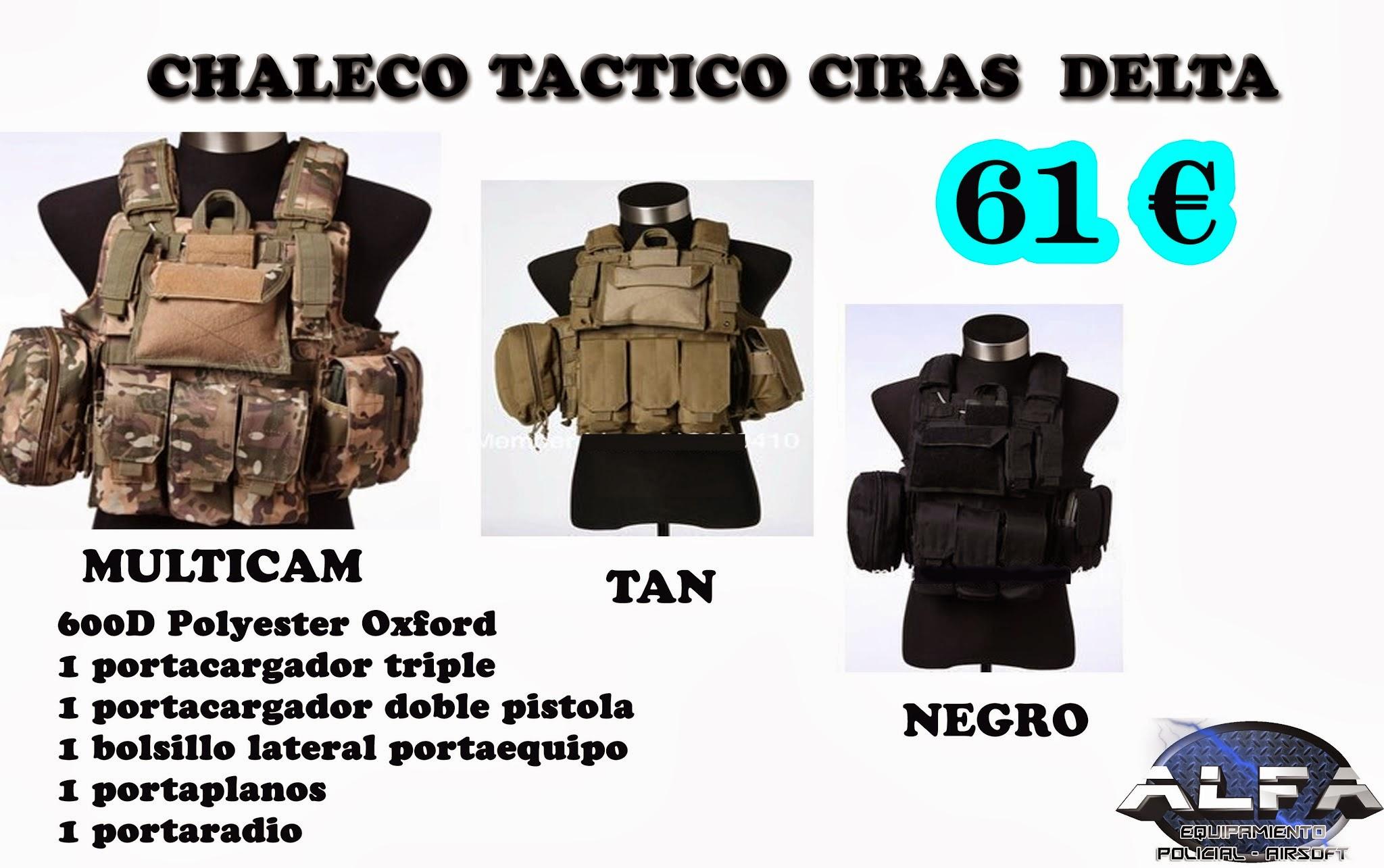 NOVEDADES !! -  www.AlfaPolicial.com Chalecocirasdelta