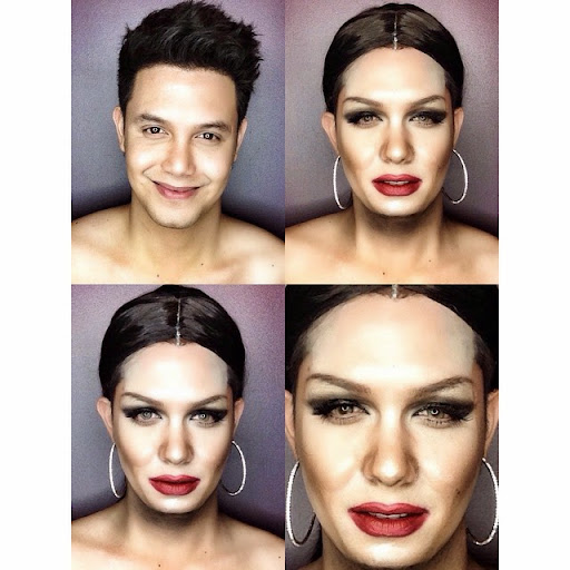 Paolo Ballesteros Makeup Transformations with Pictures 11