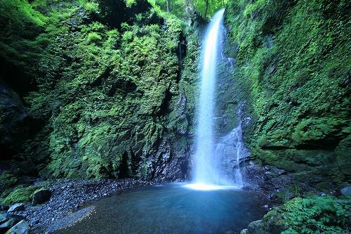 徳島名滝探訪 神通の滝のイメージ画像