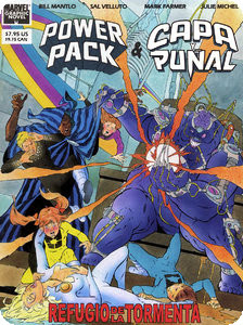 Power Pack & Capa y Puñal: Refugio de la Tormenta [Cómic][Español]