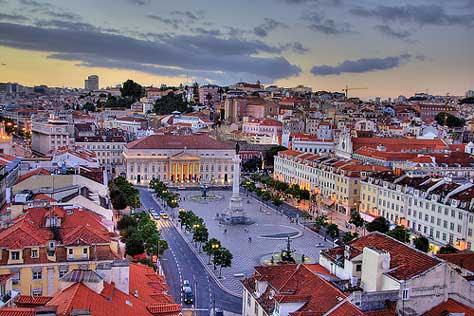 Lisboa, Plaza del Rossio