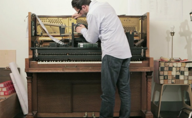 The World's First Interactive Player Piano