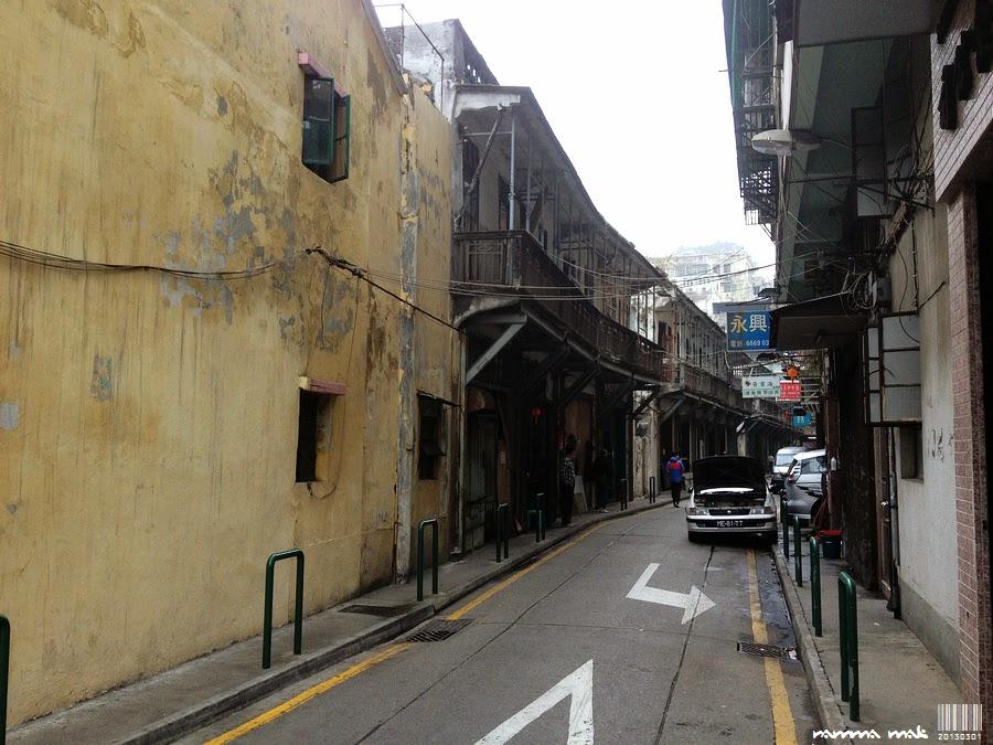 平靜的街巷